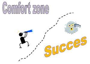 Comfort zone vs succes